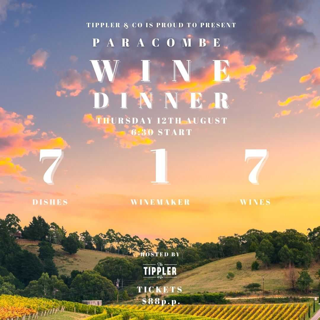 Paracombe Wine Dinner